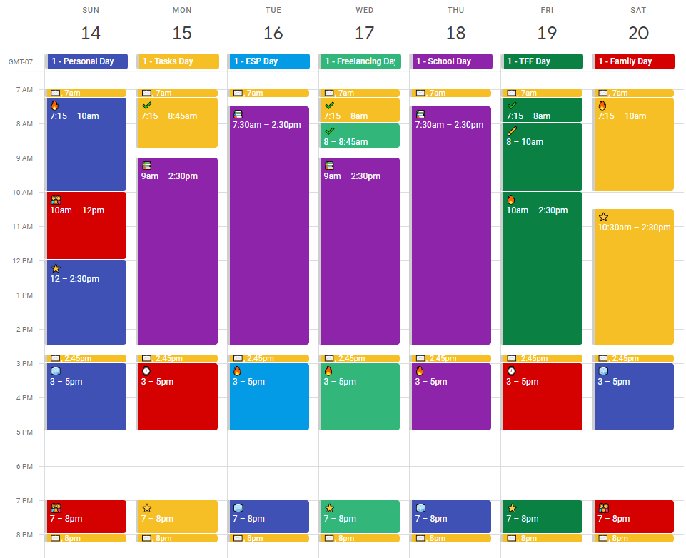 My Experience with Time Blocking on Google Calendar